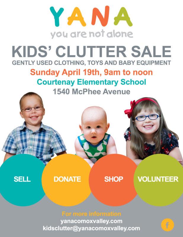Kids Clutter Poster