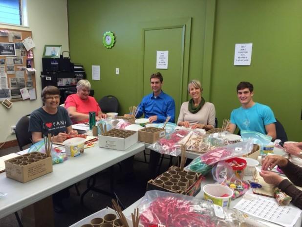 cracker volunteers