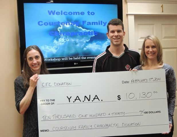 Courtenay Chiro Cheque2 crop