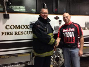 Comox Fire YANA Ride