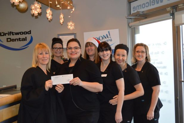 driftwood dental 2015 donation