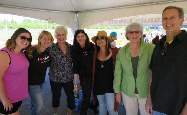 Some of the lovely volunteers from a great day!