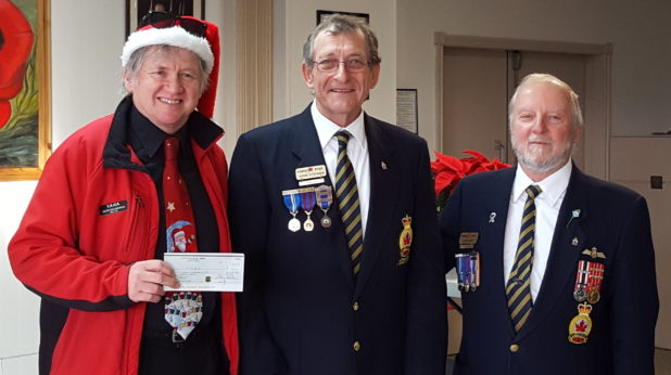 Comox Legion 2016 Donation